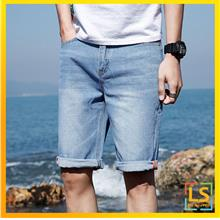 Youngster Design Men Washed Denim Short Jeans