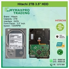 Hitachi 2TB 3.5' SATA HDD 0F14043