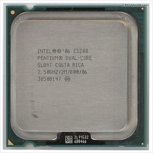 Intel Pentium Processor E5200 2.50GHz Socket 775 LGA775 Dual Core CPU