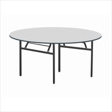 Round Banquet Folding Table FT050 (5') 5 Feet Round Foldable Table