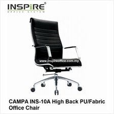 CAMPA INS-10A High Back PU/Fabric Office Chair