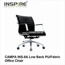 CAMPA INS-8A Low Back PU/Fabric Office Chair
