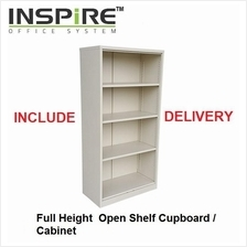 Full Height Steel Open Shelf Cupboard | Cabinet