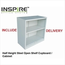 Half Height Steel Open Shelf Cupboard | Cabinet