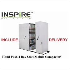 Hand Push 4 Bay Steel Mobile Compactor
