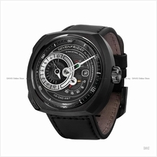 SEVENFRIDAY Q3/05 Q-Series Automatic Leather Strap Black