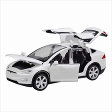 Diecast Toy 1:32 Scale Alloy Cars for Tesla Toy Model SUV Car Sound & Light T