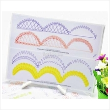 Icing Piping DIY Practice Drawing Board Template