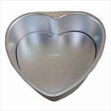 Valentine Anordised 6 in Heart Shape Cake Tin