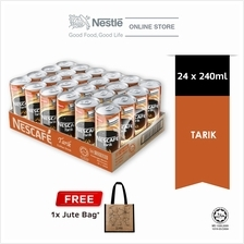 Nescafe Tarik Can 24 x 240ml Free Jute Bag