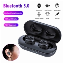 B5 Mini TWS BT Wireless Earphone BT V5.0 Touch Control Earbuds Waterproof 9D S