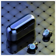 F9-8 TWS Wireless Earphones BT 5.0 8D Stereo Wireless Headphone Fingerprint To