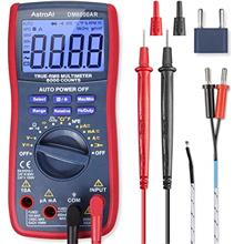 AstroAI Digital Multimeter, TRMS 6000 Counts Volt Meter Manual Auto Ranging; M