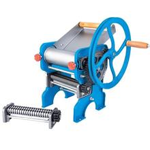 Manual Noodle Making Machine with Roller Bearing Dough Sheeter Cutter