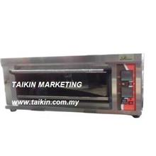 Gas Oven 1 Layer 1 Tray 0°C ~ 300°C