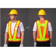 Safety Vest - with Reflective Stripes