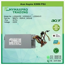 Acer Aspire X3950 220W Power Supply PSU 96MTV R5RV4 M32H8