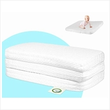 Stock Your Home Pack and Play Mattress Trifold Portable Mini Crib Roll Up Matt
