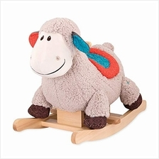 B. toys by Battat – Loopsy Wooden Rocking Sheep – Rodeo Rocker – Bpa Fre