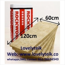 40kg/m3 Rockwool Heat Insulation Soundproof Acoustic Heat Barrier