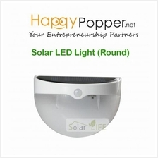 happypopper - SOLAR LED LIGHT (ROUND)