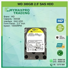 Western Digital 300GB 10Krpm 2.5' SAS HDD WD3000HLFS