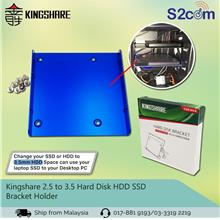 Kingshare 2.5 to 3.5 Hard Disk HDD SSD Bracket Holder