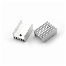 Aluminum Heatsink for TO-220 Transistor 20x15x10mm