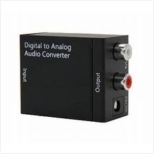 Optical Toslink Digital to Analog Audio with 5V Power Adapter