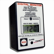 TRC AECM20020-3-012 Electra Check Digital Monitor for All AC Power Sources, Bl
