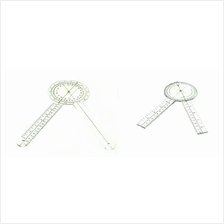 "12 ""  & 8 "" PROTRACTOR GONIOMETER SET by AMS"