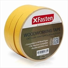 XFasten Double Sided Woodworking Tape, 1-Inch by 36-Yards, 3-Pack - Double Fac