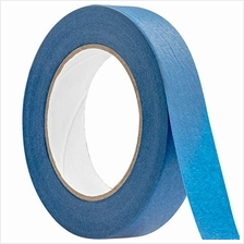 No-Residue 1 Inch, 60 Yard Blue Painters Tape 1 Pk. Easy-Tear, Pro-Grade Remov