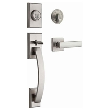 Kwikset Tavaris Single Cylinder Handleset w/Vedani Lever featuring SmartKey in