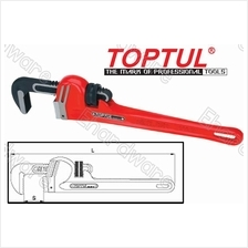 TOPTUL Chrome Molybodenum Jaw Pipe Wrench (DDAB)