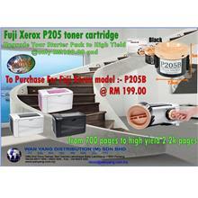 Upgrade your Fuji Xerox P205 toner cartridge starter pack