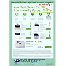 Promotion of Fuji Xerox high volume  colour laser printer