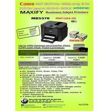 CANON MAXIFY  MB5370 + Canon Refillable cartridge PGI 2700XL