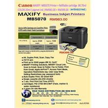 CANON MAXIFY  MB5070+ Canon Refillable cartridge PGI 2700XL