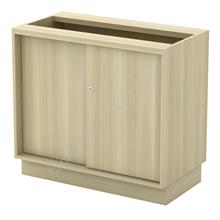 Office Furniture / Sliding Door Cabinet With Base Q-YS 972
