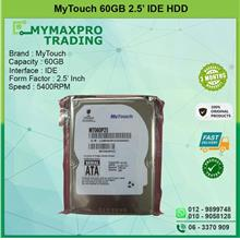 NEW MyTouch 60GB 5.4Krpm 2.5' IDE HDD MT060P25