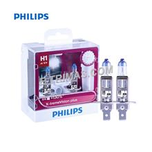 Philips X-Treme Vision Plus H1 130% Halogen Auto Headlight Fog Lamp (Twin)