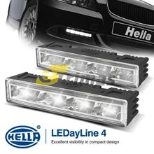 Genuine HELLA LEDayline 4 Daytime Running Lights 12V DRL LED Complete Kit