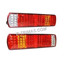 81 LED Rear Tail Light Lamp 24V Scania Volvo DAF MAN Iveco Truck Lorry Trailer