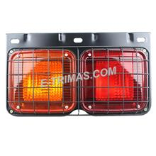 Hino Fuso Truck Lorry Rear Tail Light Lamp with Metal Netting Grill