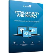 F-Secure Total Security 2020 - 1 Year 3 Device Windows 7 8 10 Home Pro
