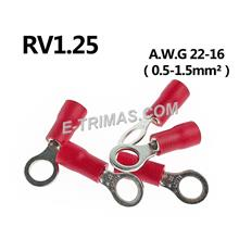 Insulated Ring Terminal Lug Clip Red (10PCS)