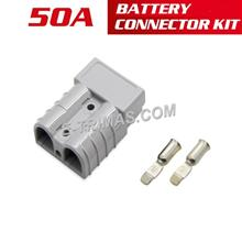 50AMP Anderson Plug Battery Power Cable Supply Socket Connector Kit