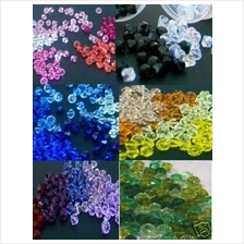 Choose Colours 6mm #5301 Austrian Swarovski Crystal Bicone Beads 100p