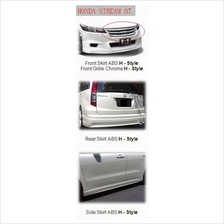 Honda Stream '07 Full Set H-Style Body Kit [ABS Material]